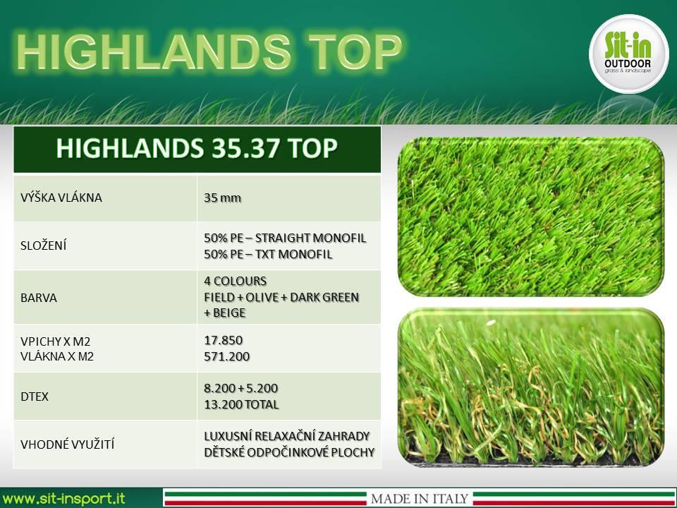 HIGHLANDS TOP